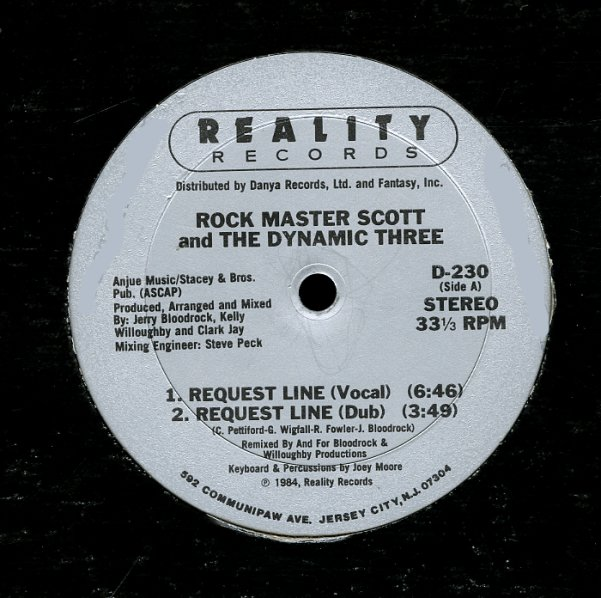 Rock Master Scott Amp The Dynamic Three Request Line Voc