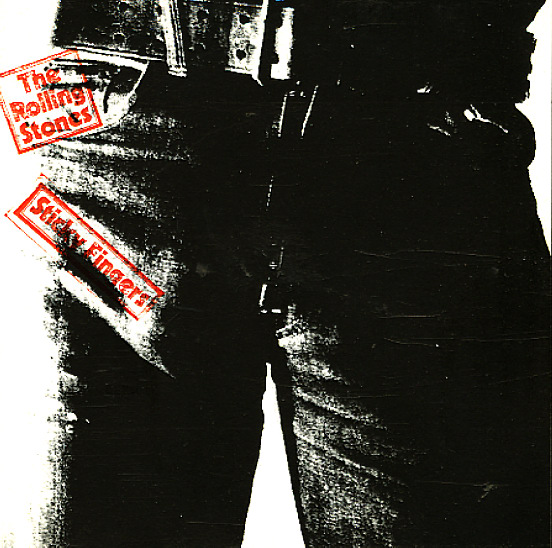 Rolling Stones Sticky Fingers Lp Vinyl Record Album