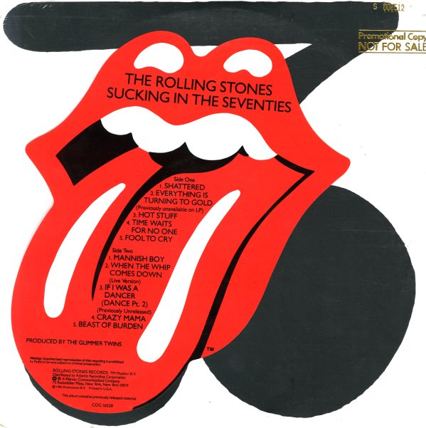 Rolling Stones Sucking In The Seventies Lp Vinyl