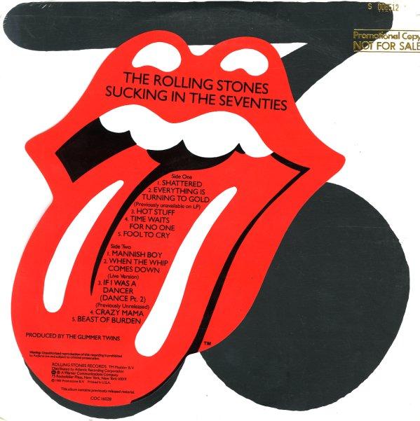 Rolling Stones Sucking In The Seventies Lp Vinyl