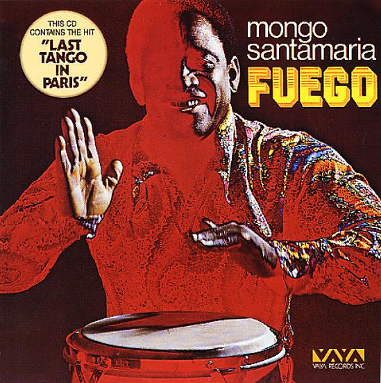 Mongo Santamaria Fuego Lp Vinyl Record Album Dusty