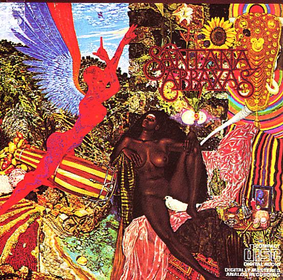 Santana Abraxas Lp Vinyl Record Album Dusty Groove