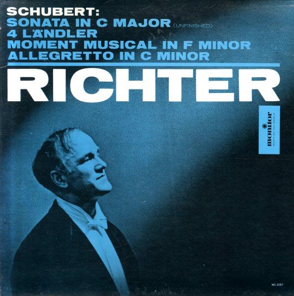 Sonata In C Major (Unfinished)/4 Lander/Moment Musical In F  Minor/Allegretto In C Minor - Sviatoslav Richter