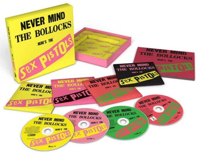 Sex Pistols : Never Mind The Bollocks (40th anniversary deluxe 3CD & DVD set) (CD) -- Dusty Groove is Chicago's Online Record Store Sex Pistols : Never Mind The Bollocks (40th anniversary deluxe 3CD & DVD set) (CD) - 웹