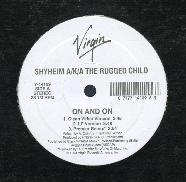 Shyheim Aka The Rugged Child Cd Lp Vinyl Record Al Cover Art