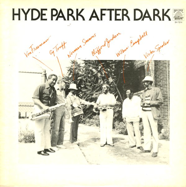 clifford jordan von freeman norman simmons etc hyde park after dark lp vinyl record album. Black Bedroom Furniture Sets. Home Design Ideas