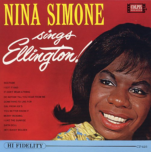 Nina Simone Nina Simone Sings Ellington Red Cover Lp