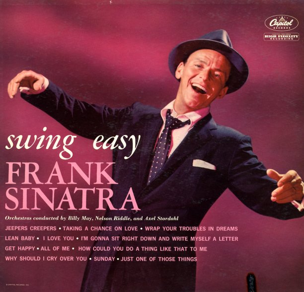 Frank Sinatra Swing Easy Lp Vinyl Record Album
