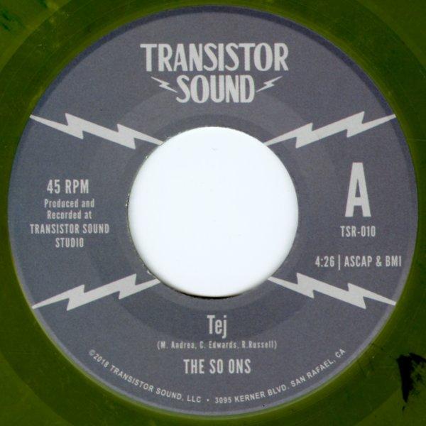 So-Ons : Tej/Short Shrift (7-inch, Vinyl record) -- Dusty