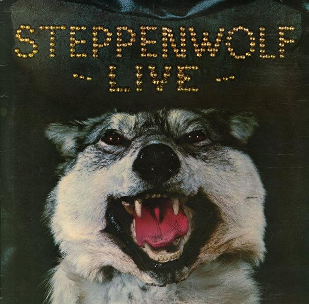 Steppenwolf : Steppenwolf Live (LP, Vinyl Record Album