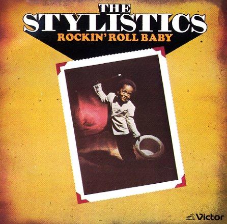 Stylistics Rockin Roll Baby Lp Vinyl Record Album