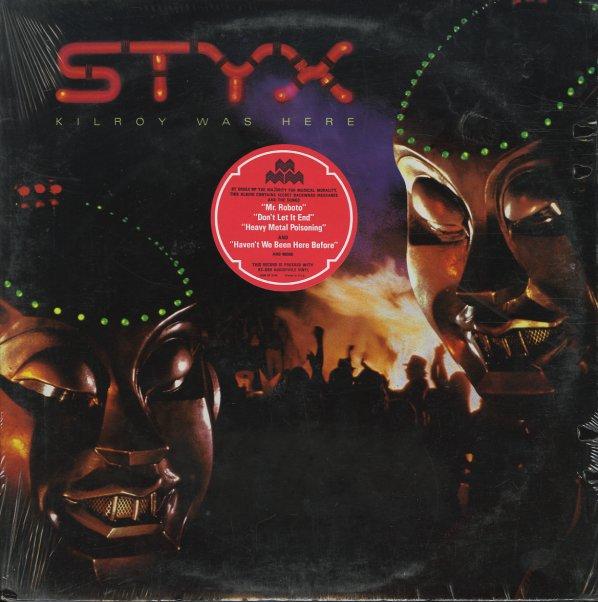 Styx Kilroy Was Here Lp Vinyl Record Album Dusty