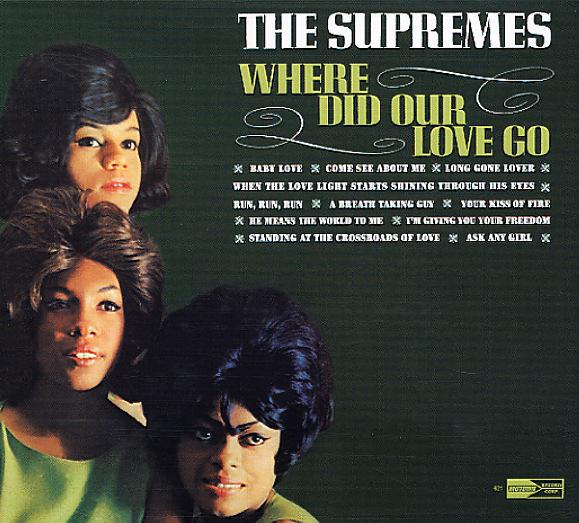 Supremes Where Did Our Love Go Lp Vinyl Record Album