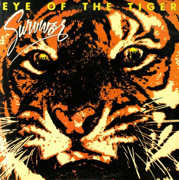 Survivor Eye Of The Tiger Lp Vinyl Record Album