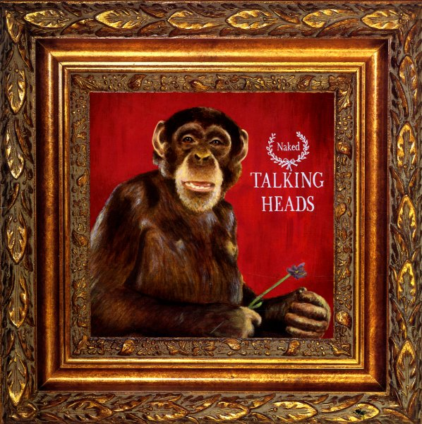 Talking Heads Naked Lp Vinyl Record Album Dusty