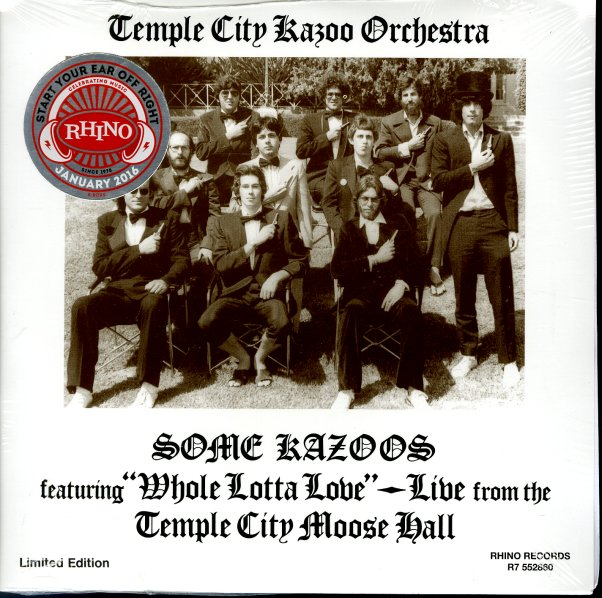 Temple City Kazoo Orchestra Some Kazoos