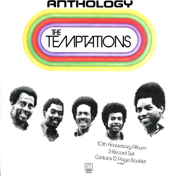 Temptations Anthology Lp Vinyl Record Album Dusty