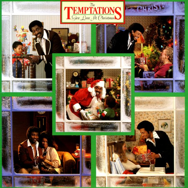 Temptations Temptations Give Love At Christmas Lp