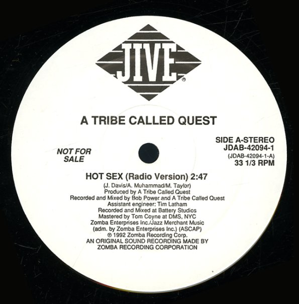 Tribe Called Quest : Hot Sex (original, radio) (12-inch, Vinyl record) -- Dusty Groove is Chicago's Online Record Store Tribe Called Quest : Hot Sex (original, radio) (12-inch, Vinyl record) - 웹