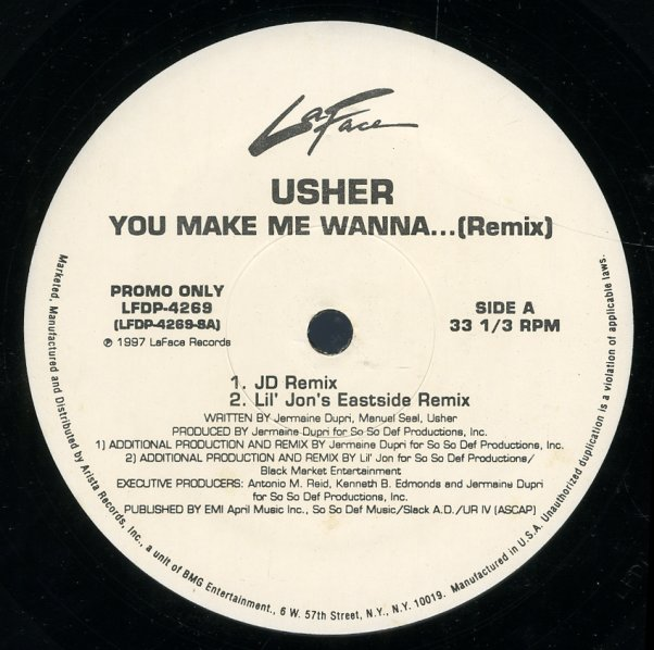 Usher You Make Me Wann...