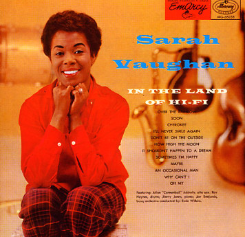Sarah Vaughan In The Land Of Hi Fi Lp Vinyl Record