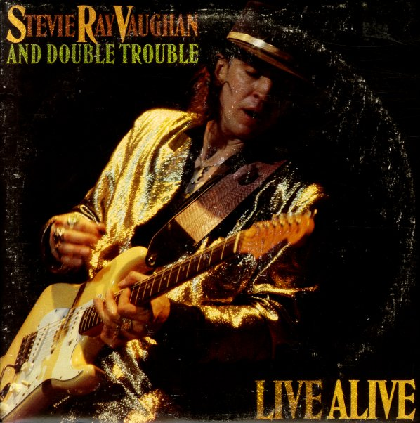 Stevie Ray Vaughan Amp Double Trouble Live Alive Lp