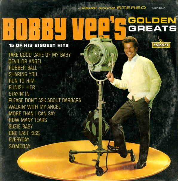 Bobby Vee Bobby Vee S Golden Greats Lp Vinyl Record