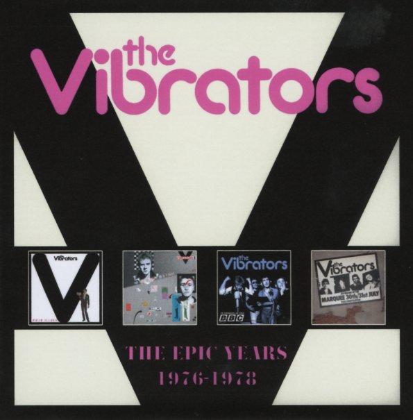 Vibrators : Epic Years 1976 to 1978 (Pure Mania/V2/In Session At The BBC/Live At The Marquee 1977/bonus tracks) (4CD set) (CD) -- Dusty Groove is Chicago's Online Record Store Vibrators : Epic Years 1976 to 1978 (Pure Mania/V2/In Session At The BBC/Live At The Marquee 1977/bonus tracks) (4CD set) (CD) - 웹