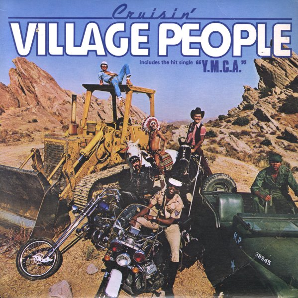 Village People Cruisin Lp Vinyl Record Album Dusty