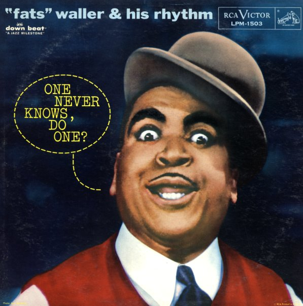 Fats Waller : One Never Knows Do One? (LP, Vinyl record ...