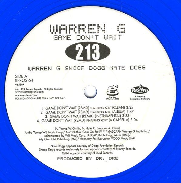 Warren G - Game Don't Wait Remix