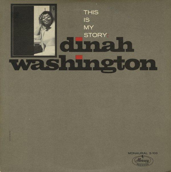 Dinah Washington : This Is My Story (LP, Vinyl record album)