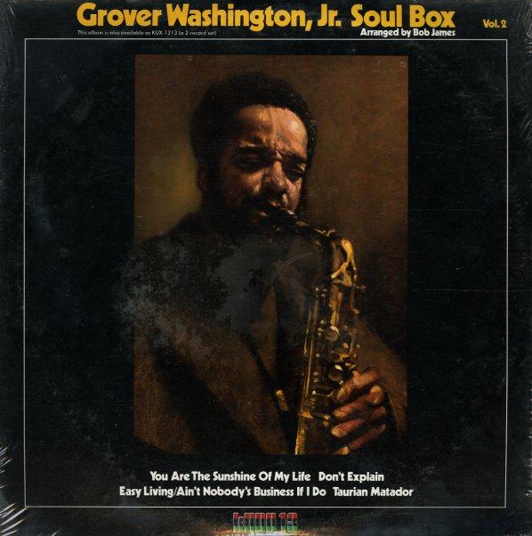 Grover Washington Jr Soul Box Vol 2 Lp Vinyl Record