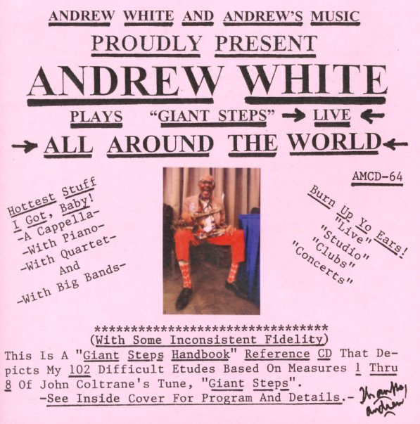 Andrew White : Giant Steps Live – All Around The World (CD