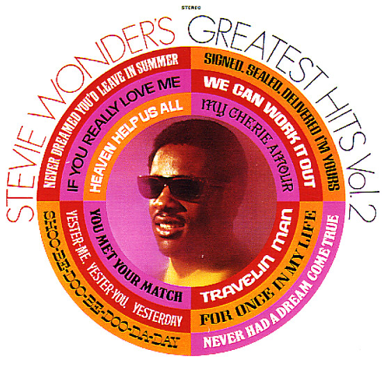 Stevie Wonder Stevie Wonder S Greatest Hits Vol 2 Cd