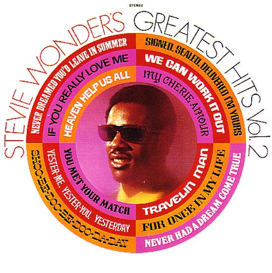 Stevie Wonder Stevie Wonder S Greatest Hits Vol 2 Lp