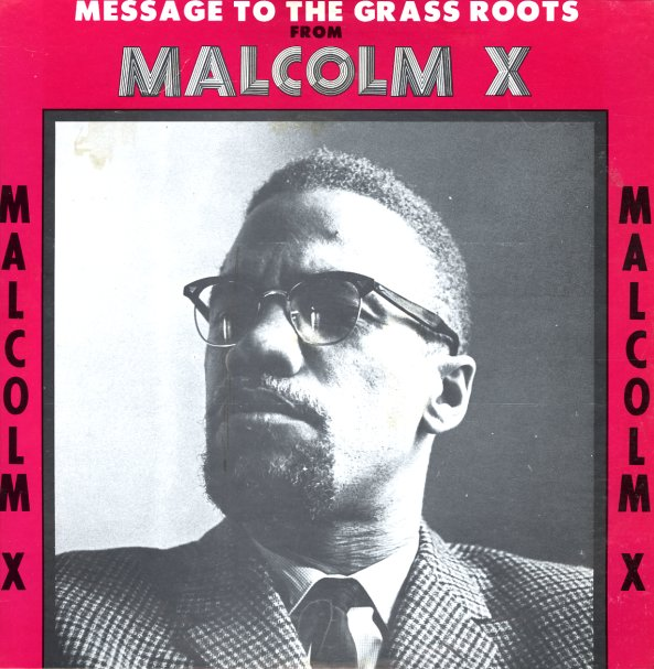 Malcolm X Message To The Grass Roots Original Pressing