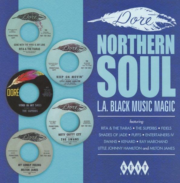 Various Dore Northern Soul La Black Music Magic Lp