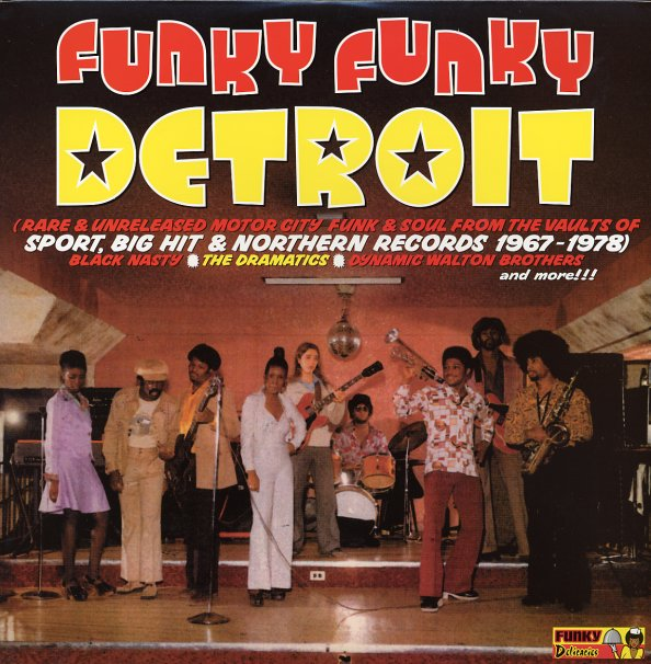 Various Funky Funky Detroit Rare Amp Unreleased