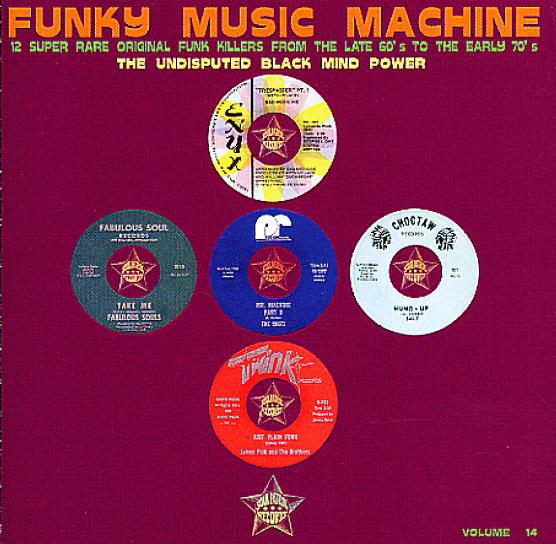Various Funky Music Machine 12 Super Rare Original