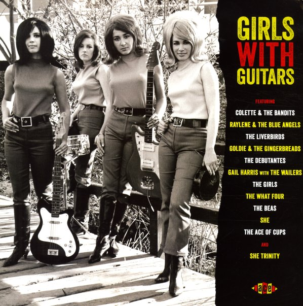 Various Girls With Guitars Groovy Guitar Toting All