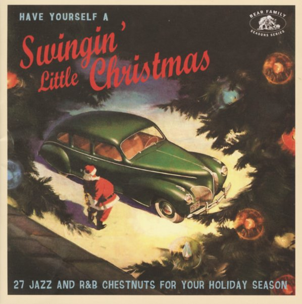 Christmas Album Cover Art.Have Yourself A Swingin Little Christmas