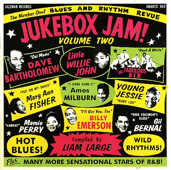 Various Jukebox Jam 2 Blues Amp Rhythm Revue Lp Vinyl