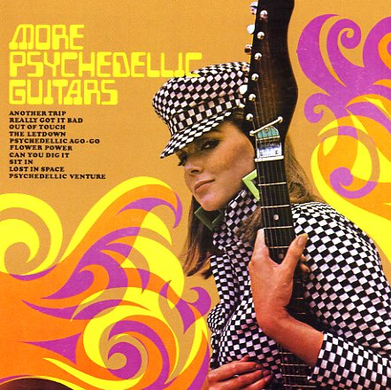 Various More Psychedelic Guitars Lp Vinyl Record Album