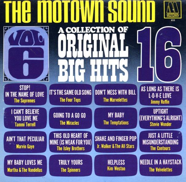 Various Motown Sound Collection Of Original 16 Big