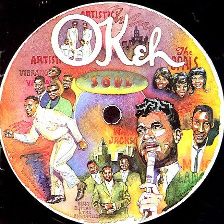 Various Okeh Soul Lp Vinyl Record Album Dusty