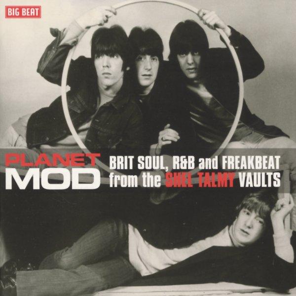 Various Planet Mod Brit Soul R Amp B Amp Freakbeat From