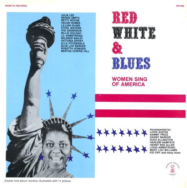Various : Red White & Blues – Women Sing Of America (LP