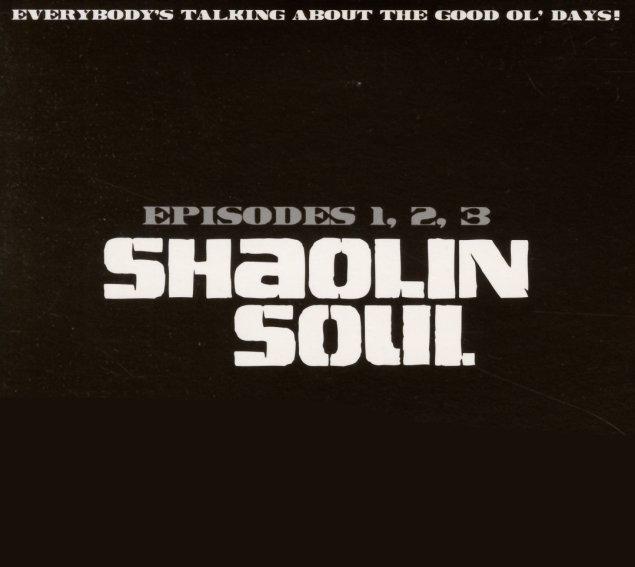 Various Shaolin Soul Episodes 1 2 Amp 3 3cd Set Cd