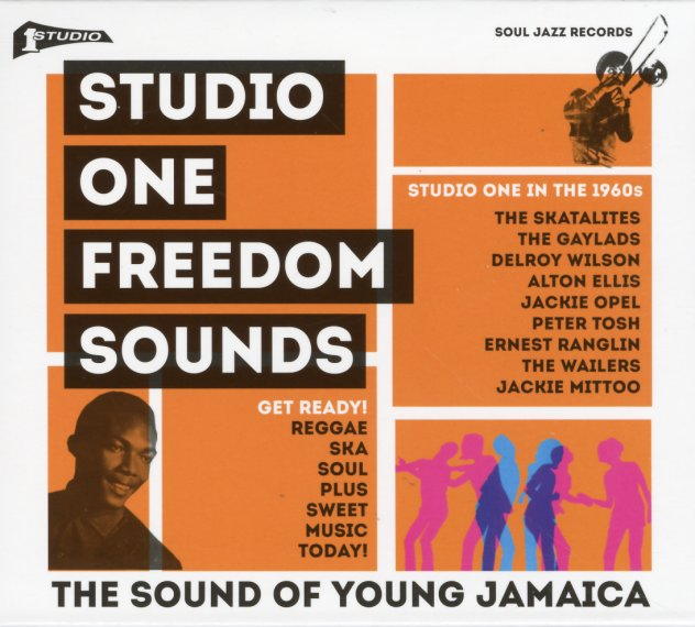 Various : Studio One Freedom Sounds – Studio One In The 60s (CD)
